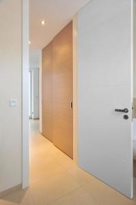 Zimmertüre in Weißlack