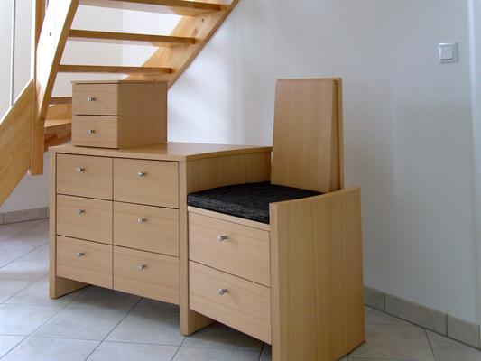 garderobe flur schreinerei blendl stuttgart. Black Bedroom Furniture Sets. Home Design Ideas